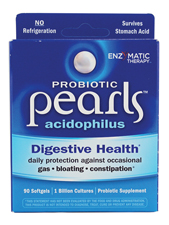 Probiotic Pearls Acidophilus 1 Billion CFU