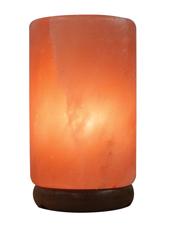Cylinder Shaped Crafted Salt Lamp