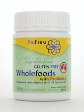 FermPlus Gluten Free Wholefoods with Probiotics
