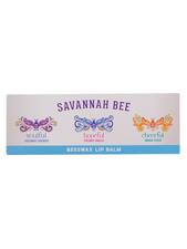 Beeswax Lip Balm Trio Gift Set