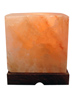 Cube Shape Crafted Salt Lamp