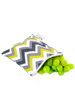 Snack Happens Reusable Snack Bag Sunshine Chevron