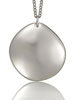 Qlink Silver Pebble Pendant (Polished)