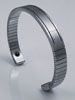 Q-Link Men's Stainless Steel Cuff Bracelet