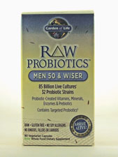 RAW Probiotics - Men 50 & Wiser