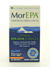 MorEPA Omega-3 Fish Oil - Orange Flavor