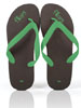 Chocolate Lime Flip Flops