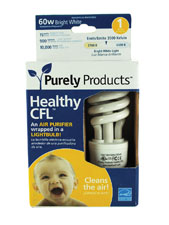 Healthy CFL 15-Watt Light Bulb