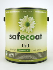 Safecoat Flat Interior Zero VOC - Pure White