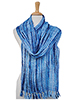 Recycled Silk Scarf - Light Blue