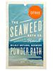 Wildly Natural Seaweed Bath Powder - Citrus Scent