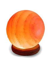 Crafted Salt Lamp - Globe 4-6 lbs